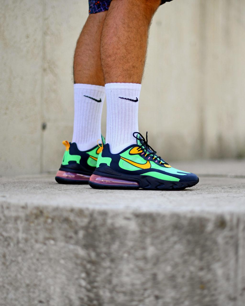 representación preferible Remo  Nike Air Max 270 React Pop Art - Sneakers.fr