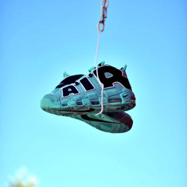 Nike Air More Uptempo Aqua