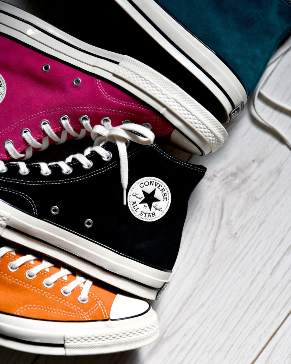 Pack Converse Chuck 70 Suede Holiday '19