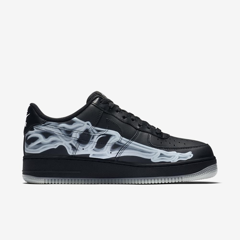 Nike Air Force 1 Skeleton QS Black