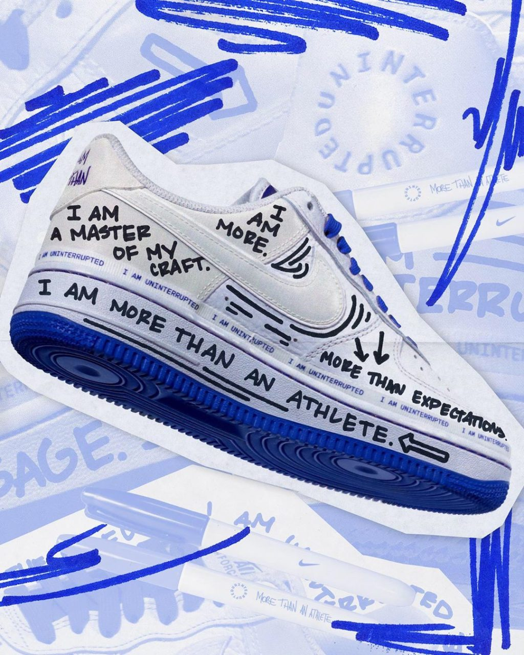 Air Force 1 Uninterrupted More Than An Athlete en 2020