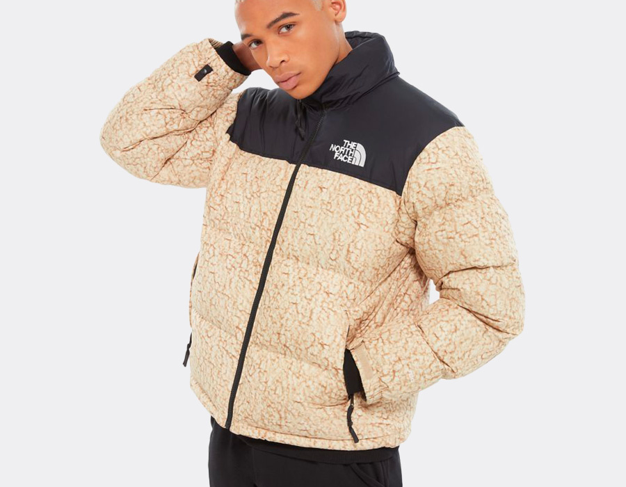 The North Face Nupste Sherpa Print