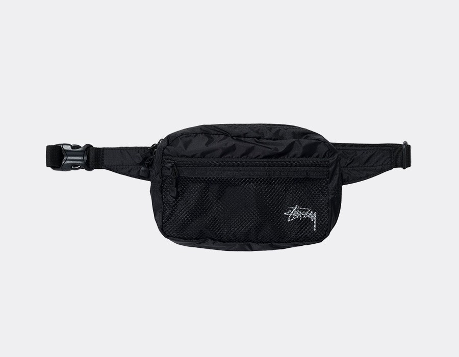 Stussy Light Waistbag Black