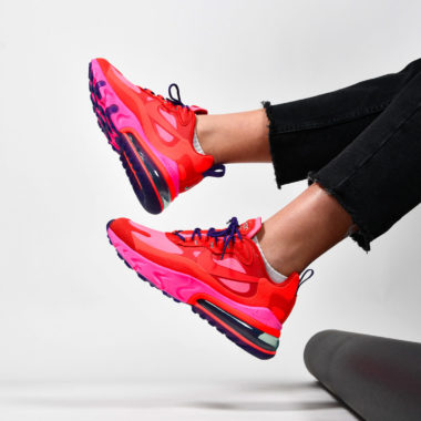 Nike Air Max 270 React Mystic Red