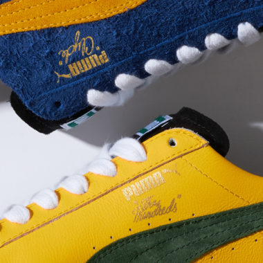 The Hundreds x Puma Clyde Cream
