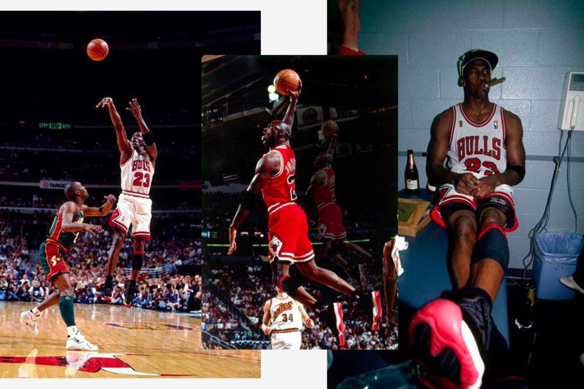 Air Jordan 11 Bred Michael Jordan