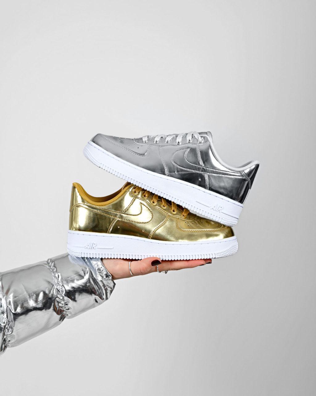 Nike W Air Force 1 Metallic QS