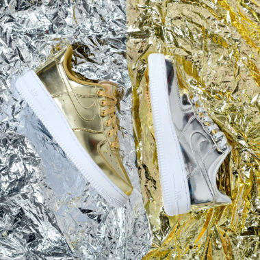 Nike W Air Force 1 Metallic QS