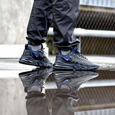 Nike Air Max 270 React ENG Black/Sapphire