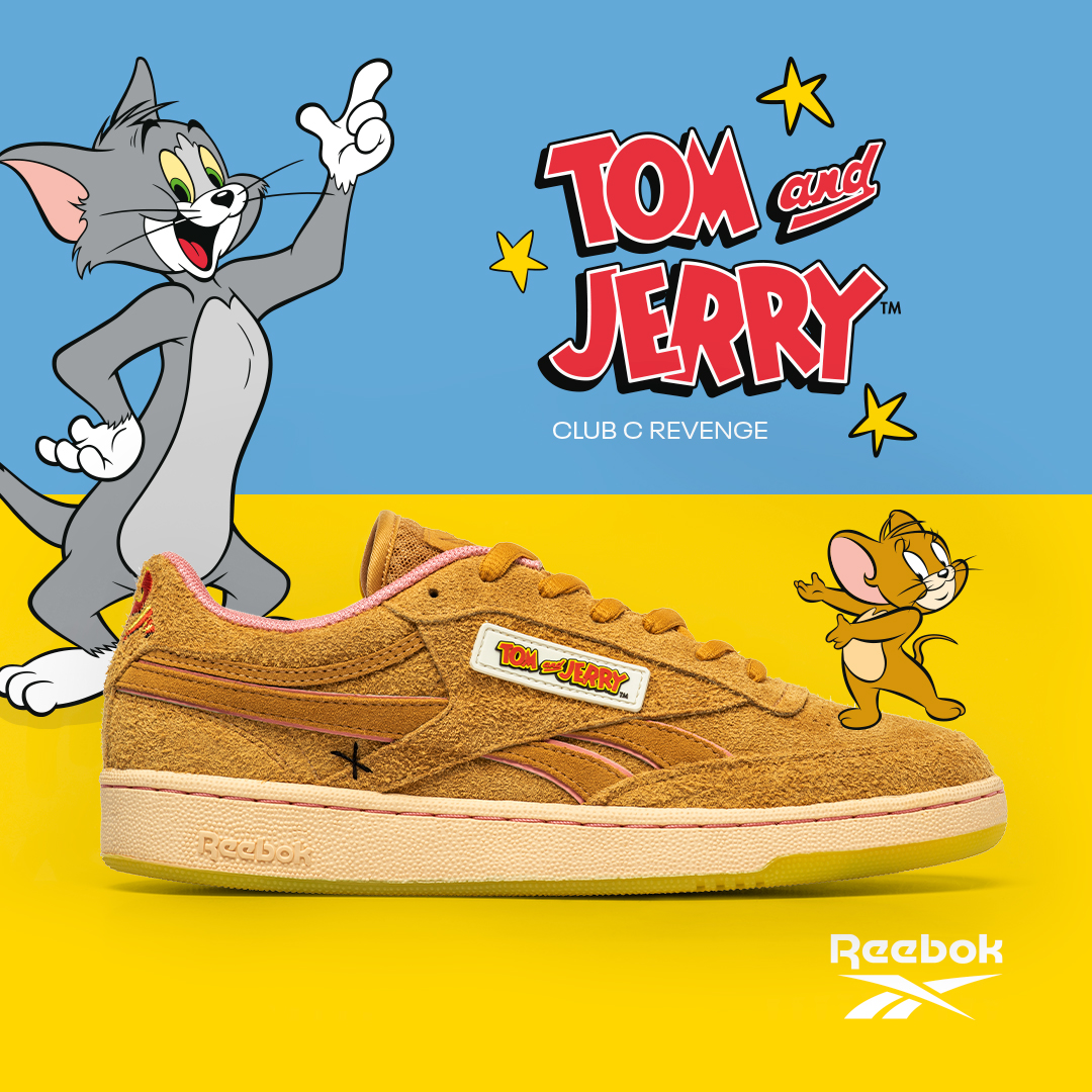 Collection Tom and Jerry x Reebok