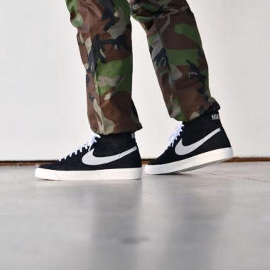 Nike Blazer Mid 77 Black/Platinum Grey