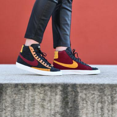 Nike W Blazer Mid QS Black/Team Red