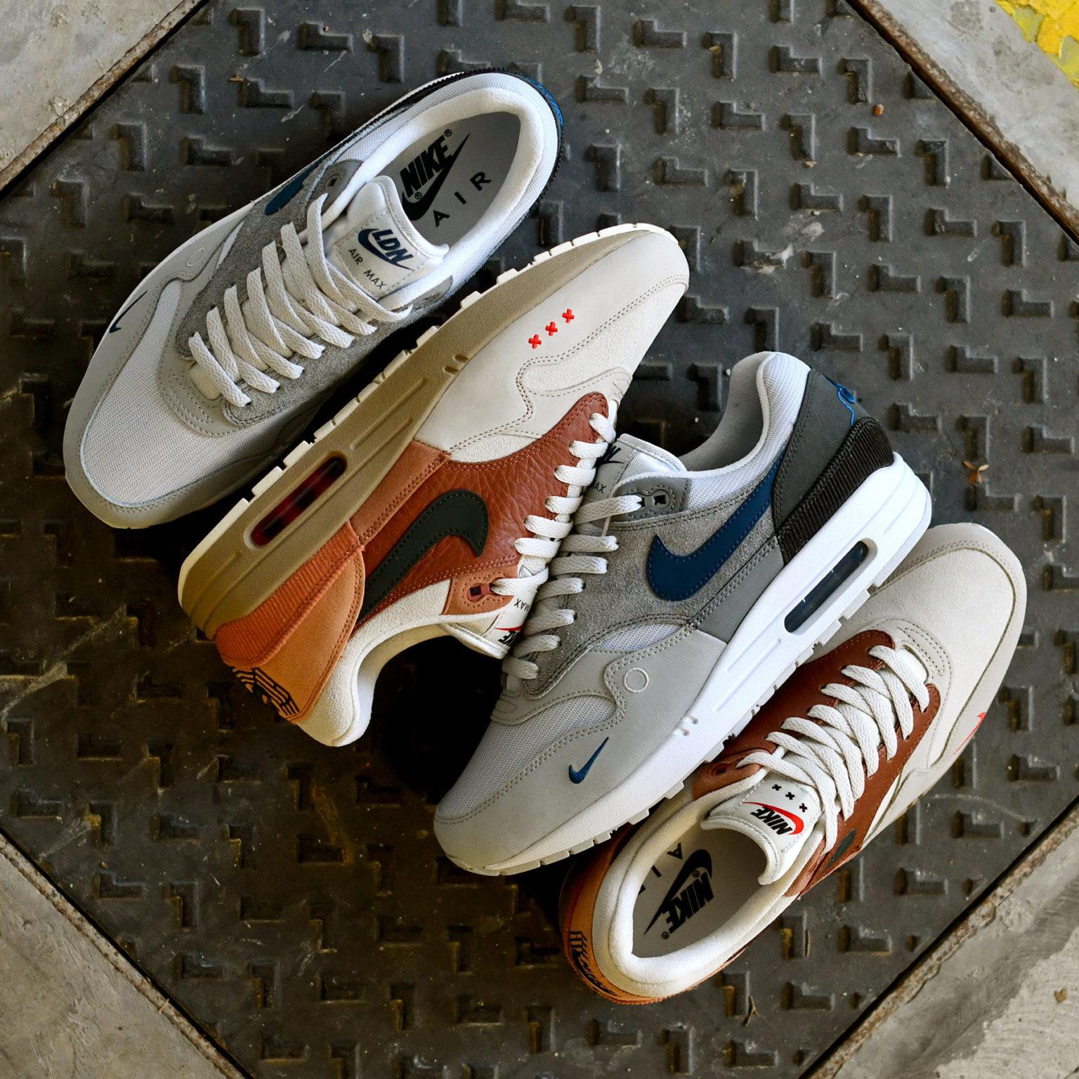 "Nike Air Max 1 City Pack ""London & Amsterdam"""