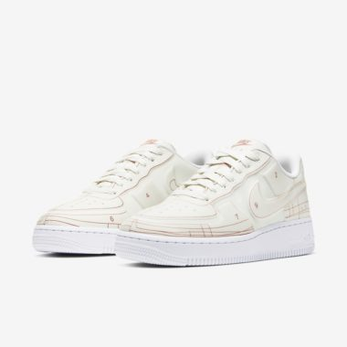 Nike W Air Force 1 LX Schematic White