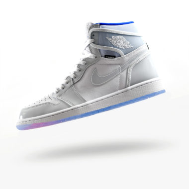 Air Jordan 1 Zoom High Racer Blue
