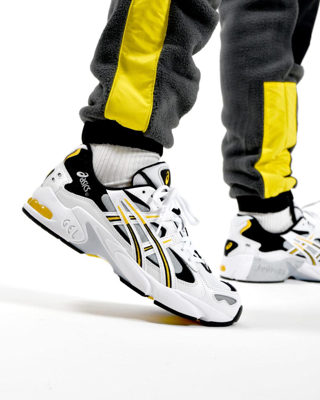 Asics Gel Kayano 5 OG White/Saffron