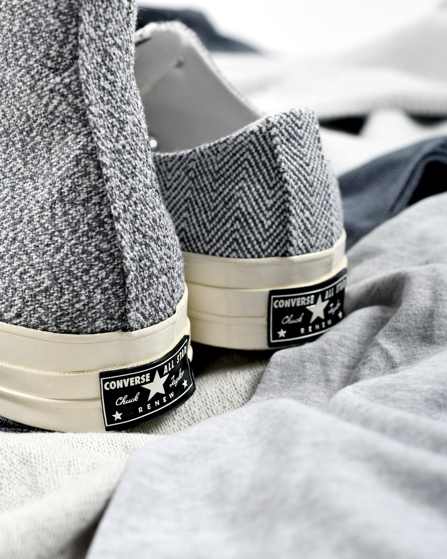 Converse Chuck 70 « Renew Cotton » Pack