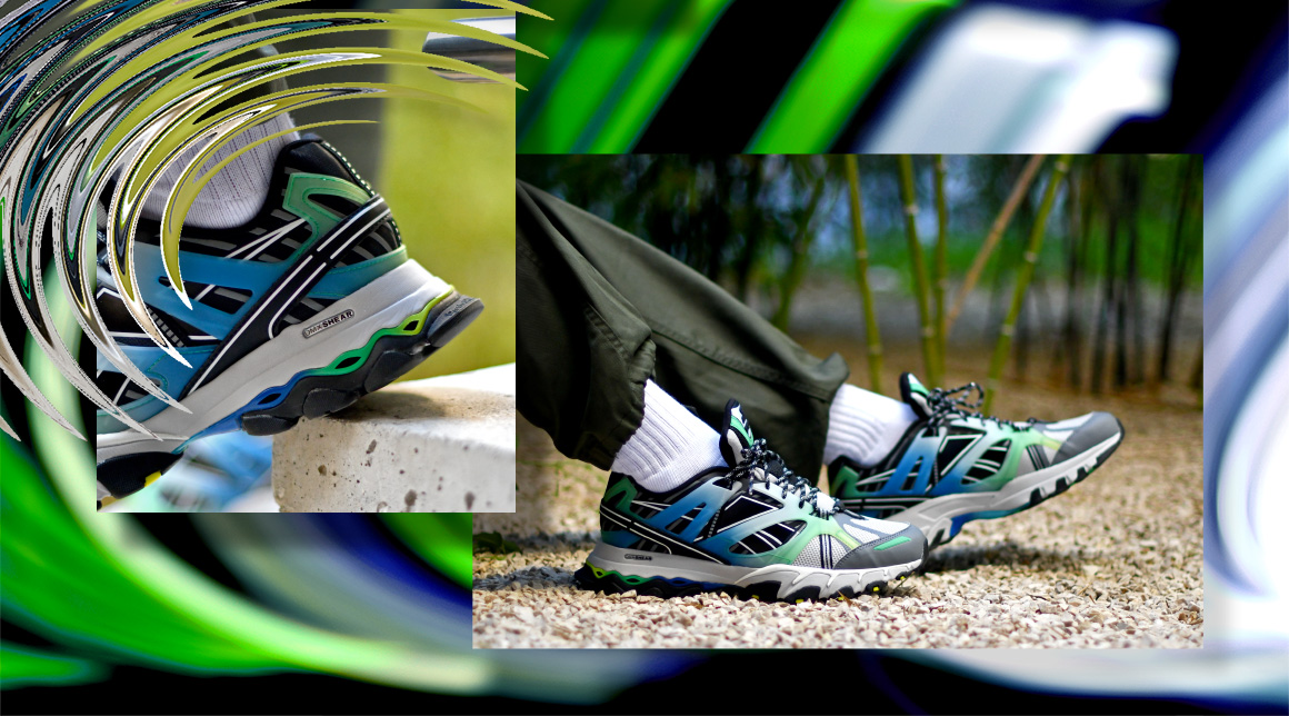 Reebok DMX Trail Shadow Steel/Bottle Green