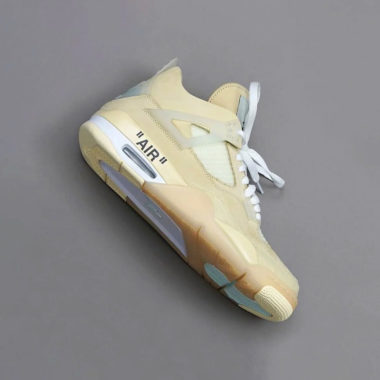 Air Jordan 4 Off White Sail