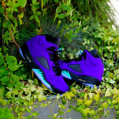 Air Jordan 5 Alternate Grape