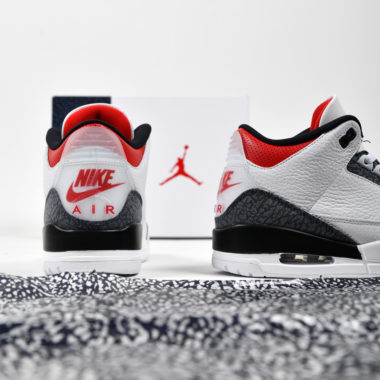 Air Jordan 3 Denim Fire Red
