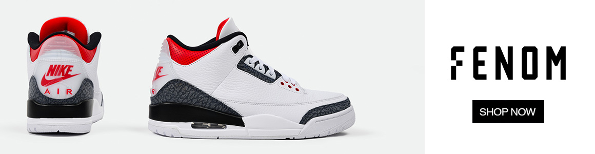 Air Jordan 3 Denim Fire Red FENOM