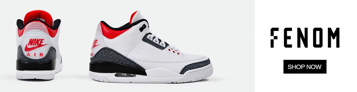 Air Jordan 3 Denim Fire Red FENOM