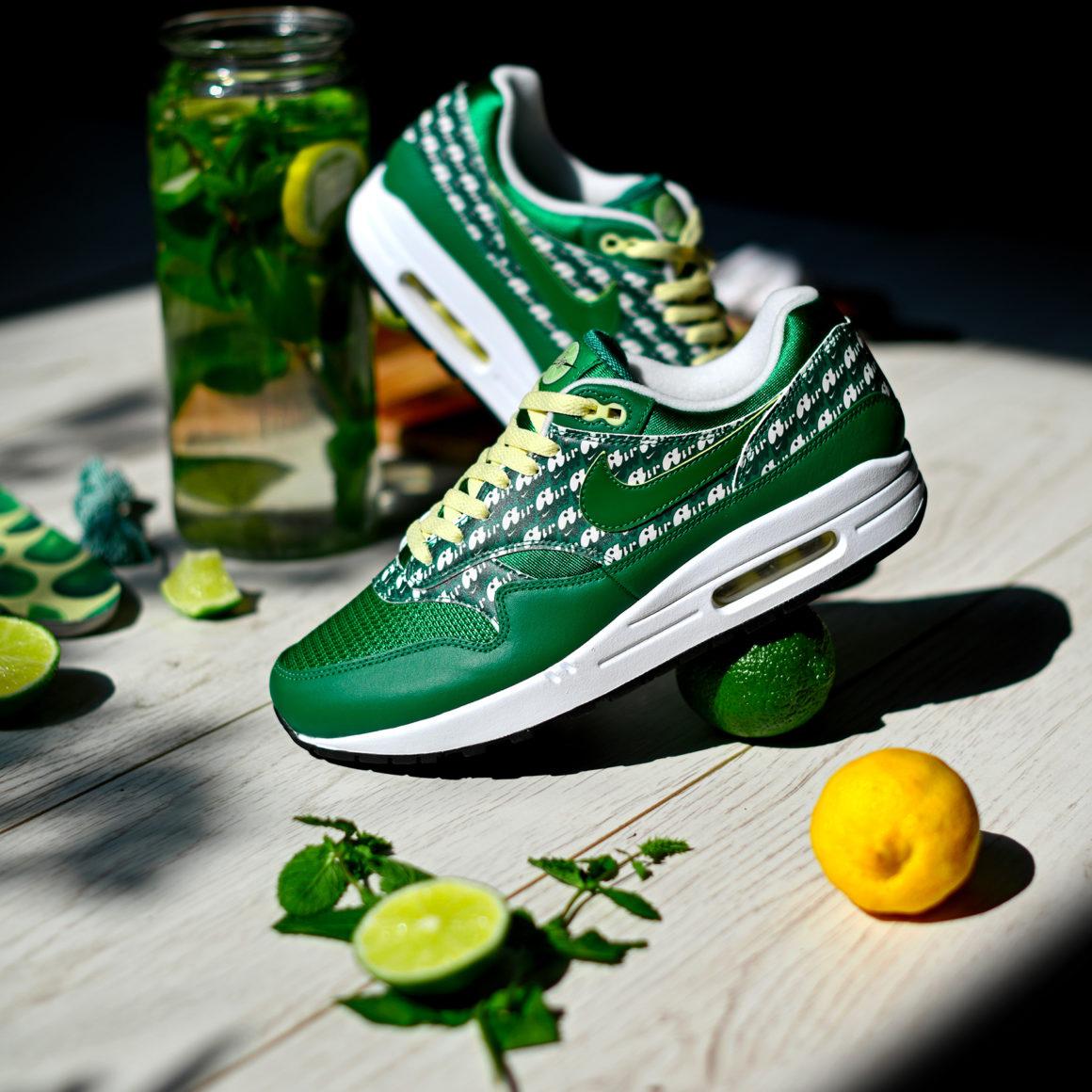 Nike Air Max 1 Limeade Green - Sneakers.fr