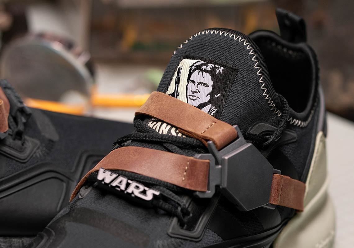 Star Wars x adidas ZX 2K Boost Han Solo