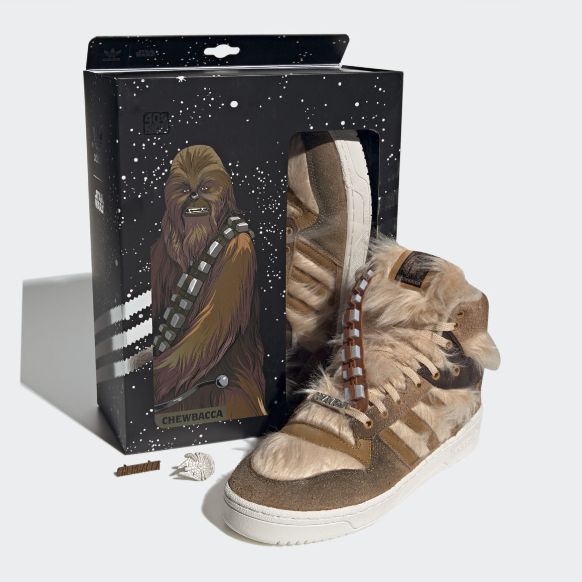 Star Wars x adidas Rivalry High Chewbacca