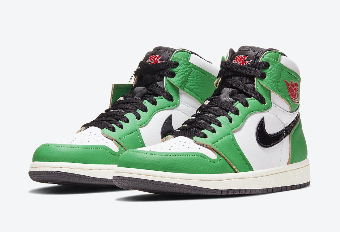 Air Jordan 1 W Lucky Green