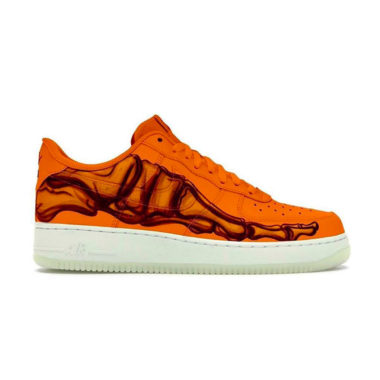 Nike Air Force 1 Skeleton Orange