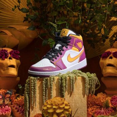 Air Jordan 1 Mid Dia de los Muertos