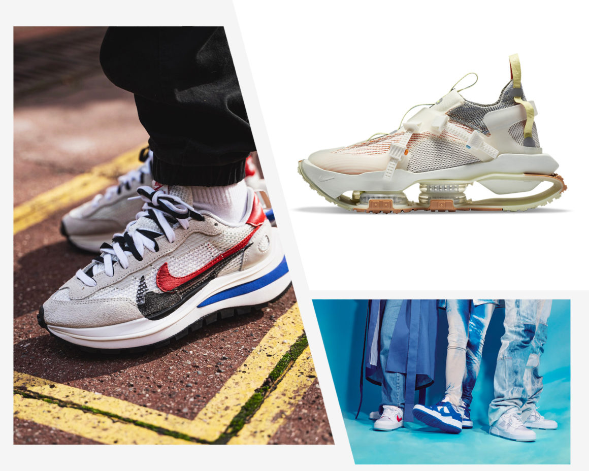 Best of Sneakers 2020 Sacai Nike Dunk Disrupt ISPA Road Warrior