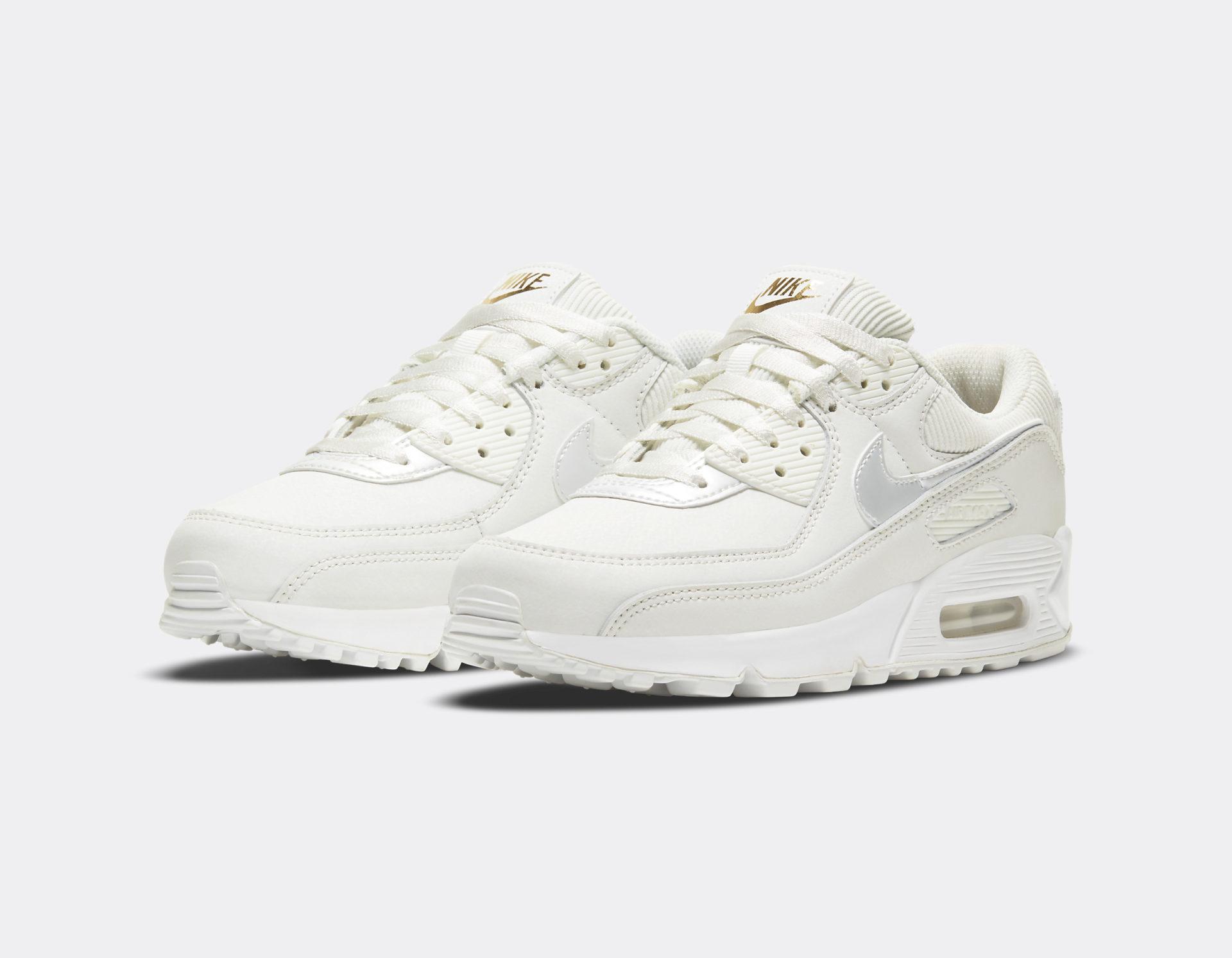 Nike W Air Max 90 Summit White - Sneakers.fr