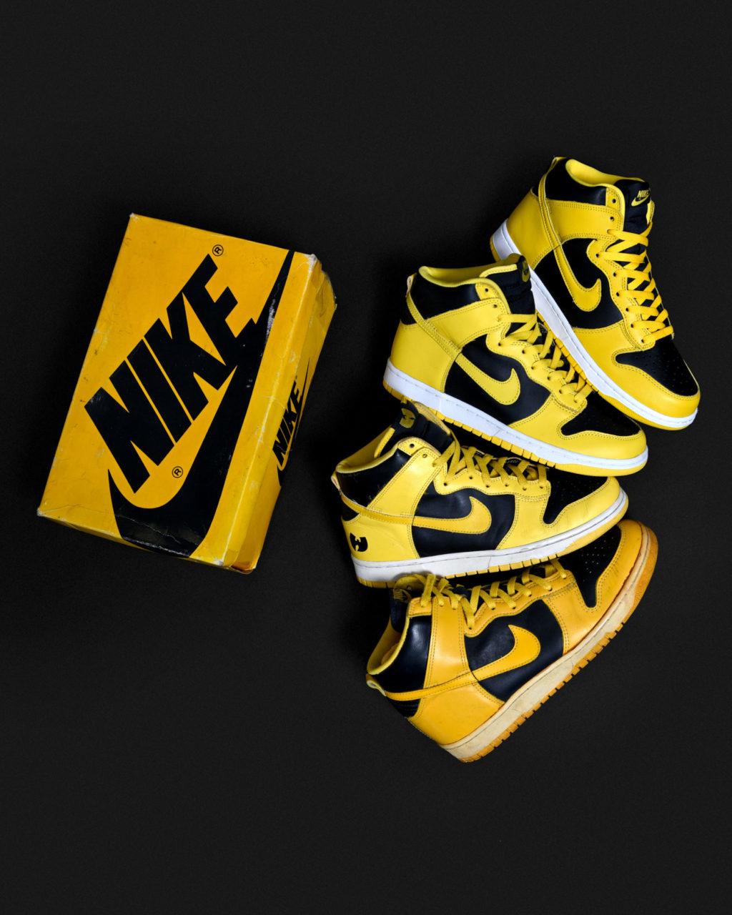 Nike Dunk High Varsity Maize