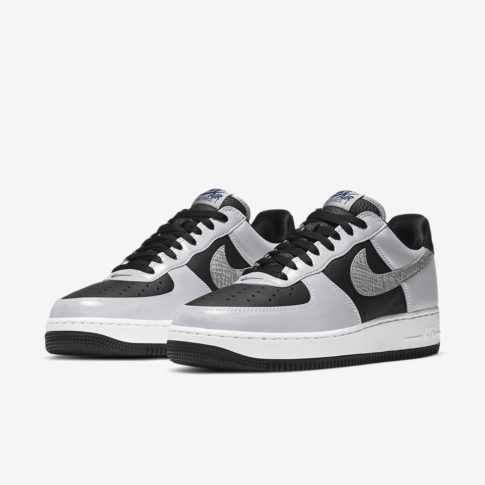 Nike Air Force 1 Silver Snake