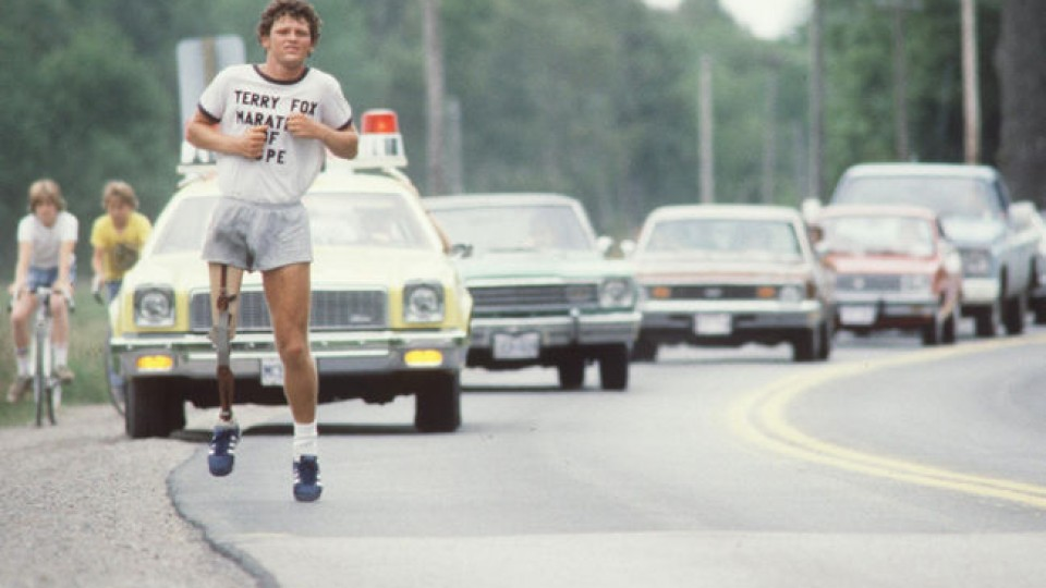 Terry Fox Marathon of Hope adidas Orion OG
