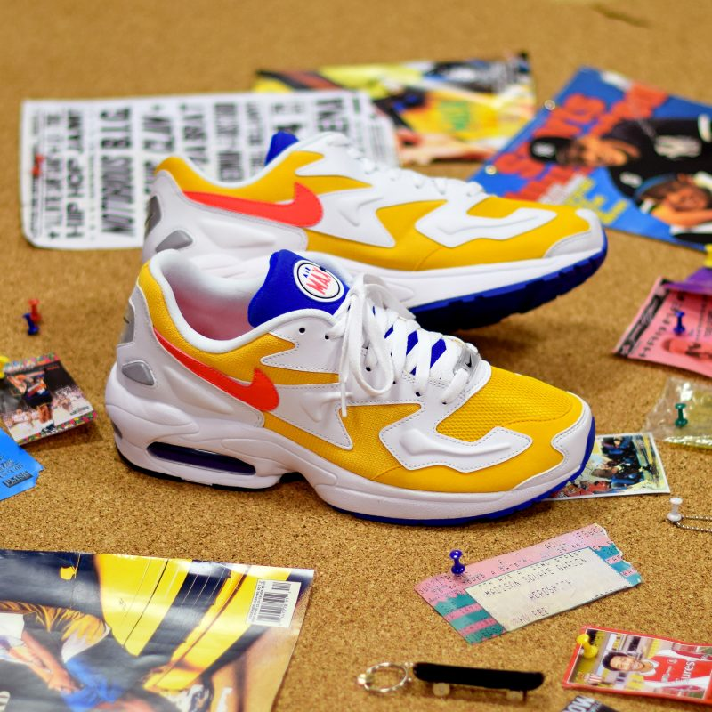 nike air max 2 light jaune
