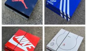 Habiller sa console avec sa boite de sneakers préférée