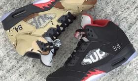 Trois paires de Air Jordan V Supreme sont prévues