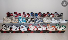 La collection complète d'Air Jordan 1 originales