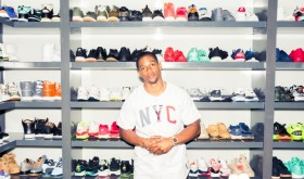 La collection de sneakers de Victor Cruz