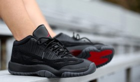 Air Jordan 11 Low IE Black/ True Red « Referee »