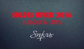 Soldes Hiver 2016 sur SNKRS