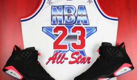Réédition du maillot de Jordan au All Star Game 1991