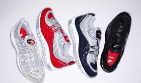 Supreme x Nike Air Max 98 pour le 28 avril