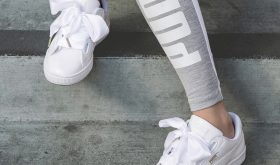 Puma Basket Heart Patent « Black & White »