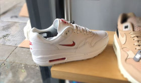 Nike Air Max 1 Jewel White/University Red