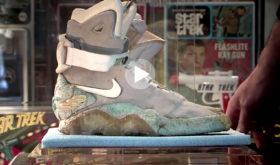 Le modèle originel de la Nike Mag aux enchères